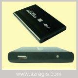 Aluminiumgehäuse des shell-USB2.0 HDD unterstützt alle 2.5-Inch SATA Festplattenlaufwerke