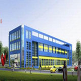 Entrepôt préfabriqué de structure métallique de coût bas en Chine