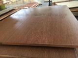El doble echó a un lado madera contrachapada de la melamina de la prueba de los sonidos para la decoración