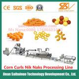 Norme ce maïs entièrement automatique des boucles Nik Naks Ligne de traitement