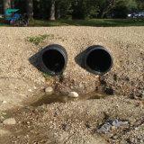 再生利用できるHDPE PPの二重壁の管のHDPEのうなり声の管