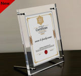 A4 Clear Acrylic Certificate Frame