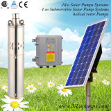 4inch太陽ステンレス鋼の浸水許容の水ポンプ、潅漑ポンプ