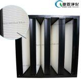 W-Тип зоны фильтрации крена v фильтр Pleat HEPA большой миниый