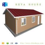 PVCハングのボードが付いている安くプレハブの鉄骨フレームの家
