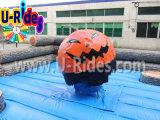 Het Opblaasbare Spel Wipeout van de pompoen voor Halloween