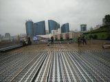 Decking сляба Gird ферменной конструкции стальной штанги конкретного здания