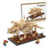 6739025-Triceratops Baustein-Spielzeug für die Vergrößerung von Sozialmitarbeit-Fähigkeit