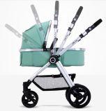 Faltbarer Baby-LuxuxSpaziergänger mit Aluminiumrahmen