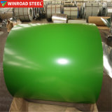 PPGI Perpainted GI de l'acier revêtement de couleur Zn tuiles couleur acier en bobines