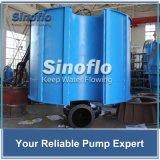 Überschwemmte Kapazität, die versenkbare Wasser-Pumpe schwimmt