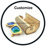De houten Doos van de Zonnebril van het Bamboe