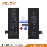 Batterie de téléphone cellulaire de grande capacité pour la batterie de téléphone mobile de l'iPhone 5g