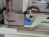 Il taglio del mitra del doppio di controllo di CNC di profilo del portello della finestra di alluminio ha veduto