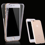 Telefone do caso de 360 graus para a tampa do caso do iPhone 7