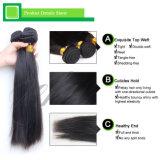 熱い販売の自然な薄茶のブラジルの人間のバージンの毛