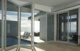 Tratamiento superior Puertas de aluminio con marco anodizado claro