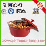 Fornecimento de fábrica Tampão de esmalte personalizado / Pote de reserva / Pote de sopa