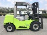 Forklift total Forklift Diesel de 5 toneladas com o motor de Isuzu 6bg1 do motor de Japão