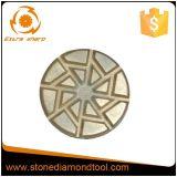 3 인치 구체적인 벨크로 금속 유대 다이아몬드 가는 패드