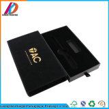 Le noir a estampé le cadre de empaquetage de cadeau de tiroir de carton avec la garniture intérieure d'EVA