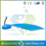 Plate-forme stationnaire de levage de ciseaux de profil bas