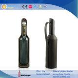 Carrier de Van uitstekende kwaliteit van de Wijn van het Leer van de Luxe van Dongguan (5693)