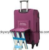 小さいシート(CY3405)が付いているトロリーによって動かされる荷物旅行袋箱