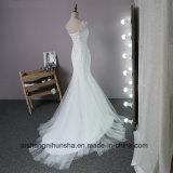 El matrimonio sexy vestido de sirena Lumbar vestido de novia
