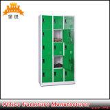 Modernes doppeltes Stahlschließfach der Farben-15-Door