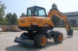 Escavatore idraulico della rotella di Hengte di 7.5 tonnellate da vendere