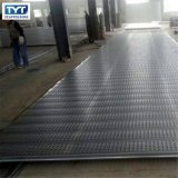 Planche en acier de passerelle galvanisée par planche en acier de bonne qualité de l'échafaudage BS1139 avec le crochet