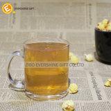 Vetro di birra di vetro della tazza del nuovo whisky di stile con la maniglia