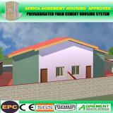 강철 프레임 조립식으로 만들어진 집 설비 콘테이너 Porta 오두막 노동 야영