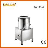 Automatique en acier inoxydable industriel 0,75 kw pour la vente de pommes de terre électrique Peeler