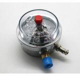 최상 석유로 가득한 충격 - 저항하는 전기 접촉 압력 계기