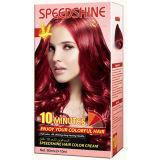 Vermelho permanente do cobre do creme da cor do cabelo de um Speedshine de 10 minutos
