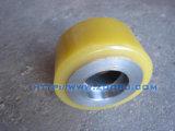 Rotelle di gomma su ordine della fabbrica NR con la memoria di alluminio