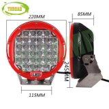 크리 말 LEDs와 가진 9inch 96W 빨간 Offroad LED 모는 빛