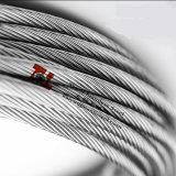 Diamètre inoxidable 316 de la construction 8mm du câble métallique 1*19