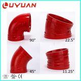 Ranurado de hierro dúctil el acoplamiento de tubos y racores con 2-1/2'' Size