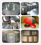 색깔 취사도구 (A1100 1050 1060 3003)를 위한 입히는 알루미늄 또는 알루미늄 원형
