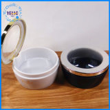 Neues kosmetisches verpackenüberwurfmutter-Plastikkapsel-Glas