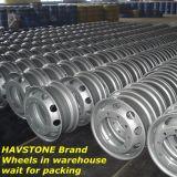 鋼鉄車輪の縁