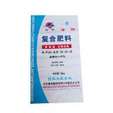 BOPP ламинированной пленки PP тканого подачи ПЭТ упаковки для внесения удобрений мешок