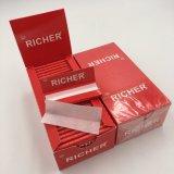 Custom высокое качество всех размеров бумаги качения сигарет скинов для некурящих