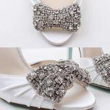 Зажим оптового способа кристаллический на орнаменте Rhinestones ботинок очаровывает пряжки для ботинок венчания