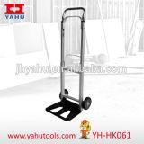 Caminhão de mão resistente e carrinho de madeira dobrável para armazenamento fácil (YH-HK061)