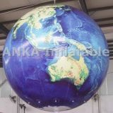 Grande aerostato gonfiabile del pianeta della terra con tutta la stampa di Digitahi