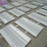 Mattonelle & lastre di marmo Polished di legno bianche di cristallo